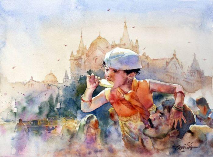 Просторы деревенской Индии. Vikrant Shitole