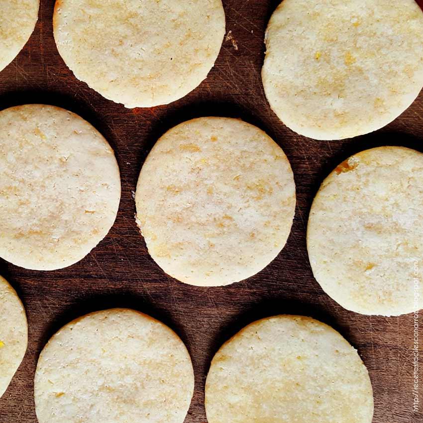 galletas de limon sin gluten ni lactosa
