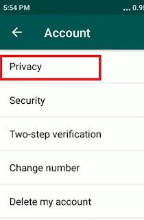 Cara Menyembunyikan Centang Biru Di Whatsapp