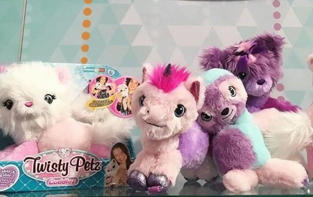Plush Pets Twisty Petz Cuddlez to Turn into Boa Accessory for Girls