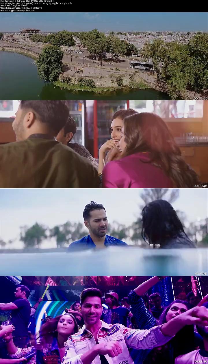 Badrinath Ki Dulhania 2017 DVDRip 480p Hindi