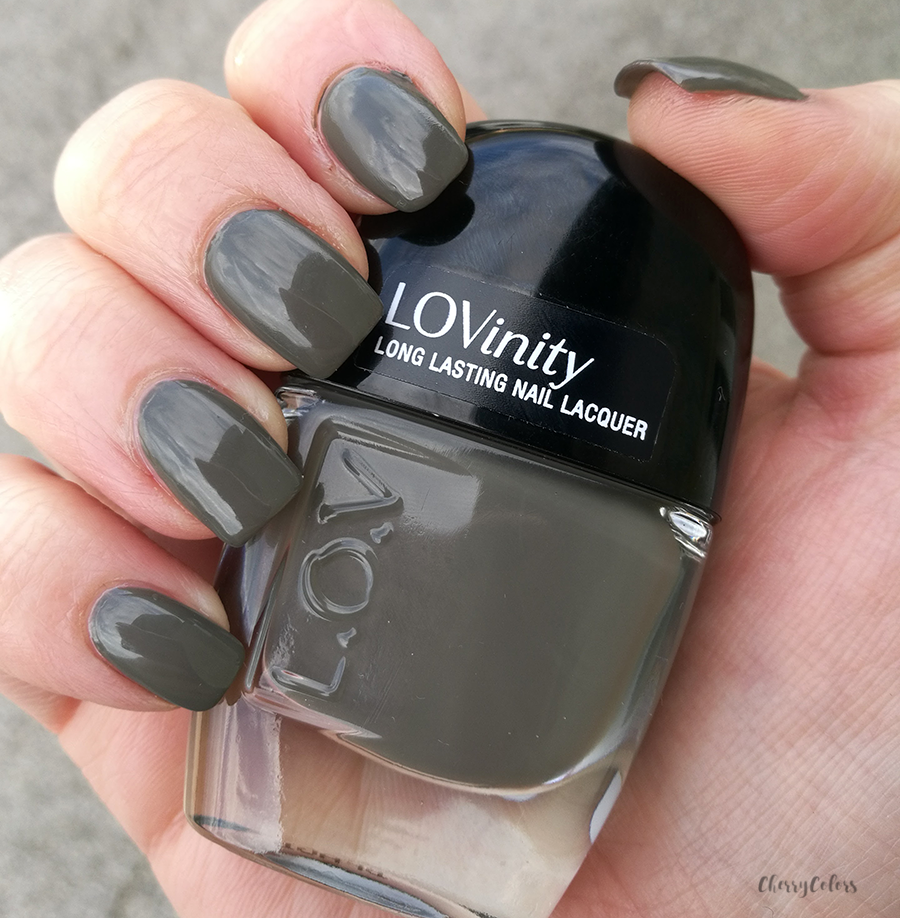 LOVinity nail polish in Olive Obsession (263)
