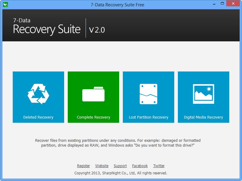 7 data recovery keys