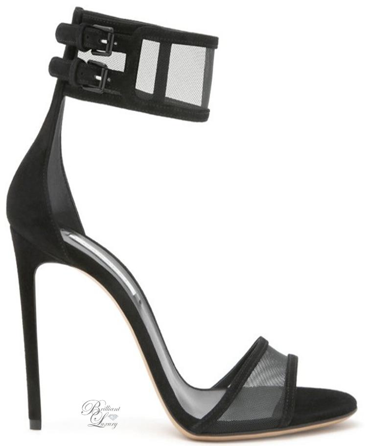 Brilliant Luxury ♦ Casadei Sheer Sandal