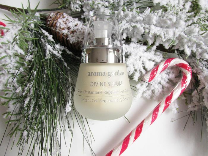 Unboxing: beautypress Dezember Box - aroma garden - Divine Serum - 50ml - 38.95 Euro