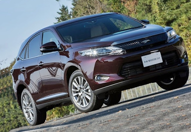 2018 Toyota Harrier Hybrid Review And Rumors