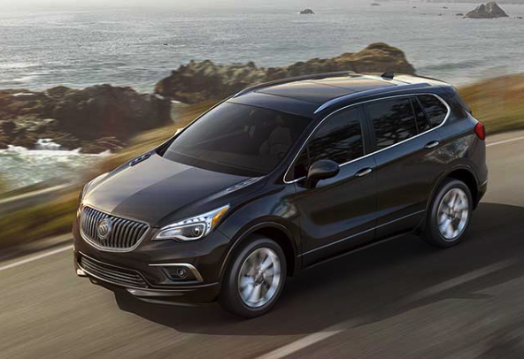 2017 Buick Envision Car And Driver Review