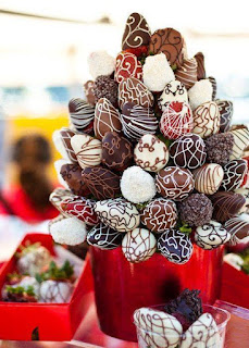 valentines bouquet of chocolates