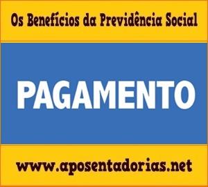 Previdência Social - O Primeiro Pagamento em Benefício.
