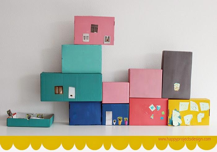 Casa de muñecas DIY