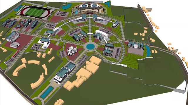 Gambar desain kampus 3 iain pekalongan