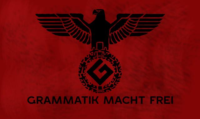 Grammar Nazi blogging blogger