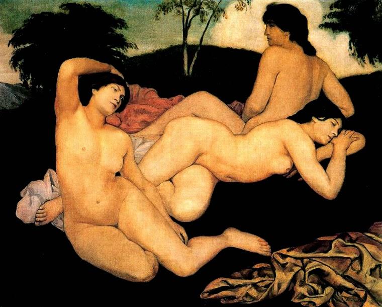 Ninfas Após o Banho - Émile Bernard e suas principais pinturas