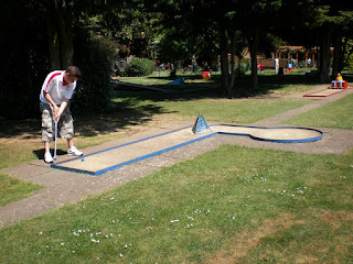 Crazy Golf course at Riverside Gardens in Maidenhead
