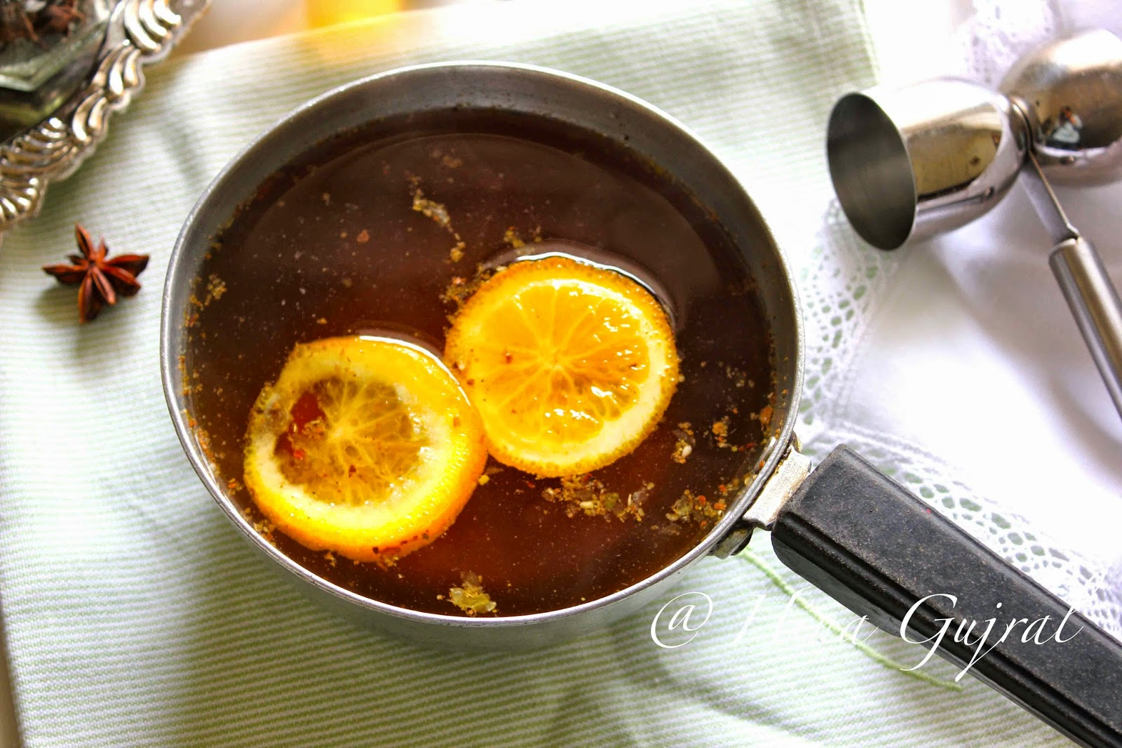Most parts of the province conduct maintain started getting starting fourth dimension sprinkles of Monsoon Hot Apple Toddy Recipe amongst Garam Masala