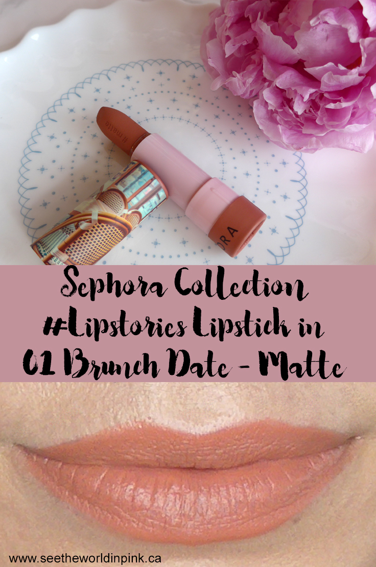 "Sephora Collection #Lipstories Lipstick in ""Brunch Date"""