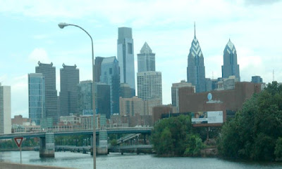 Philadelphia City Skyline in Pennsylvania