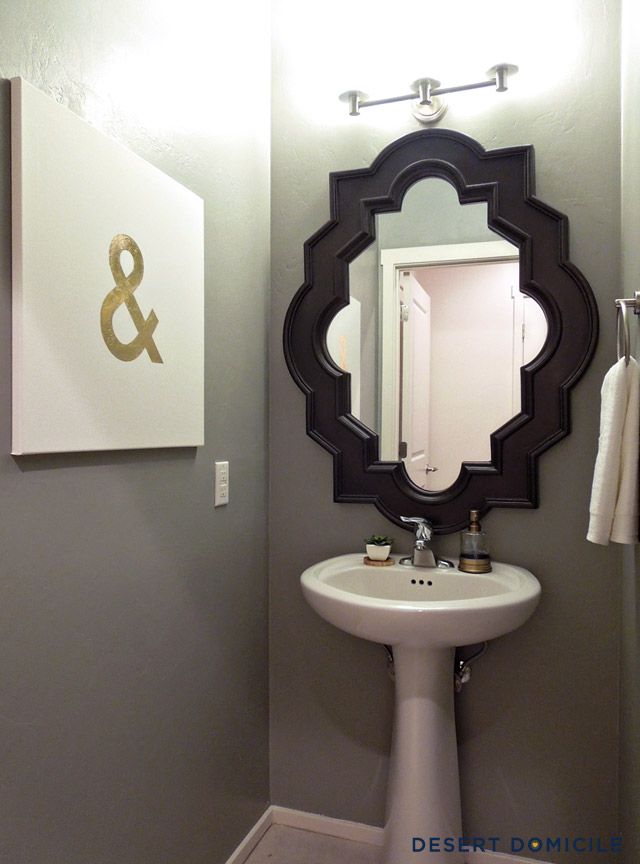 Powder Room Lighting Fixtures | New House Designs
