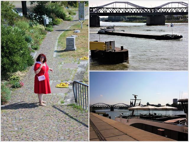 Rheinufer Mannheim_Konrad Adenauer Brücke