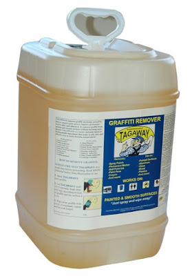 Graffiti Removal Products - Tagaway® Graffiti Remover 5 Gallons