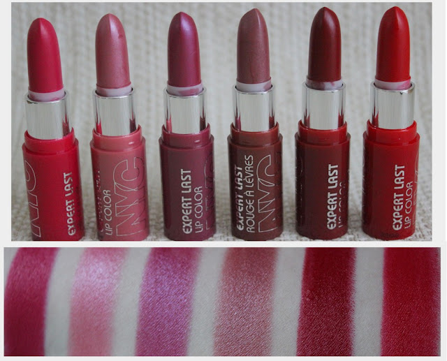 Nyc Expert Last Lip Colors Review Photos Swatches Lovely Girlie Bits Best Irish Beauty