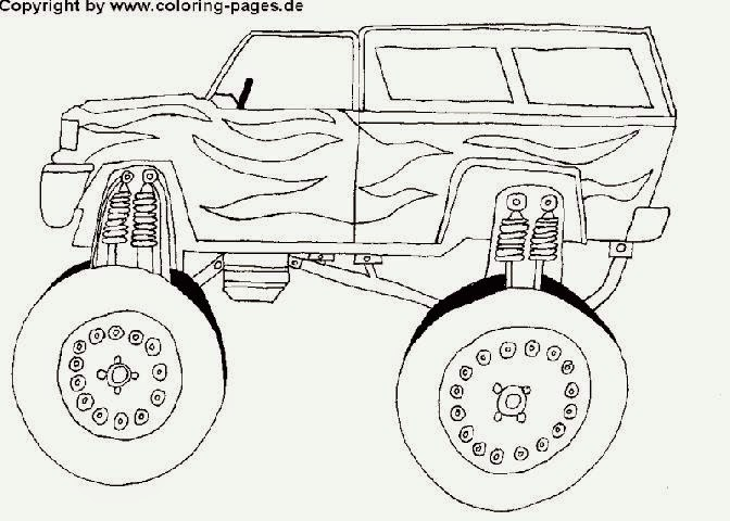 Car Coloring Pages With Flames