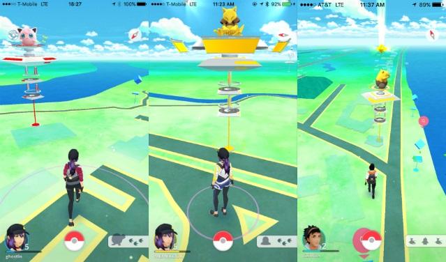Pertarungan pokemon