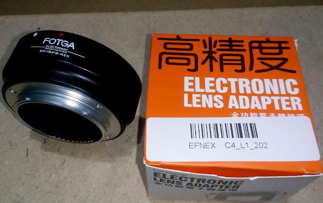 Adapter Lensa Canon EOS EF/EF-S ke Sony E-Mount