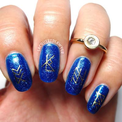 Rune Nail Art