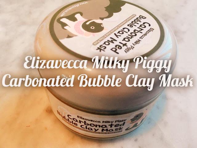 (K-beauty) Elizavecca Carbonated Bubble Clay Mask : Le masque qui fait des bulles!