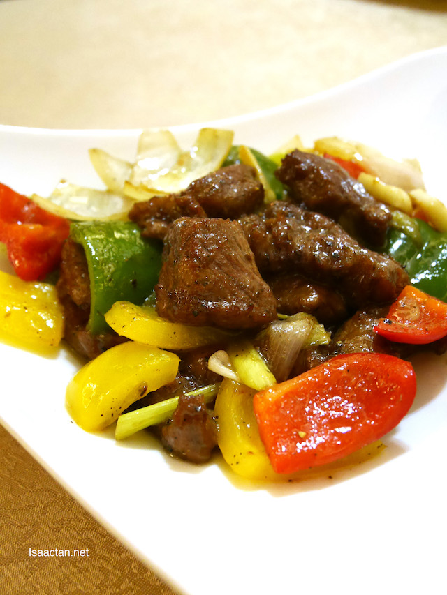 Stir Fried Angus Beef with Black Pepper