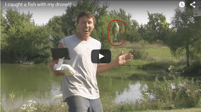 Have You Ever Seen The Fish Catching With Drone ?
