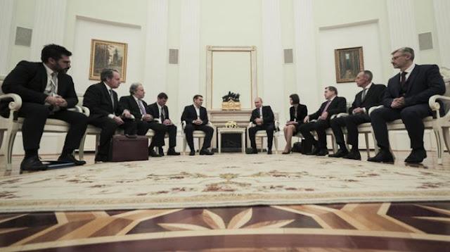 Президент России и премьер-министр Греции: Σιγά την είδηση…