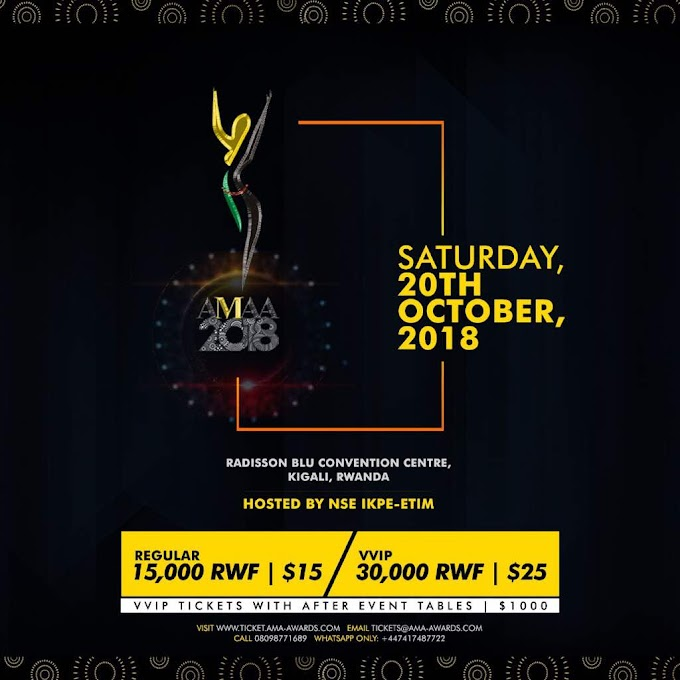 Africa Movie Academy Awards (AMAA) now holds October 20