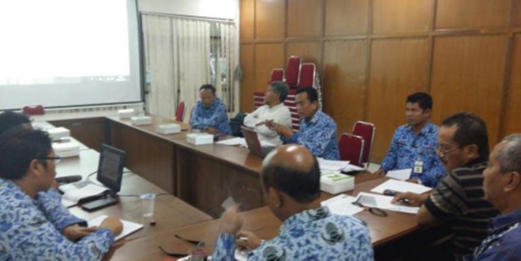 Rapat yang digelar Disdikbud Kota Magelang.