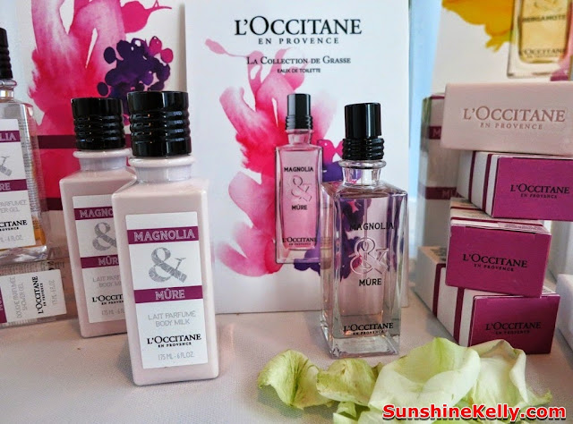 L'Occitane La Collection de Grasse Fragrance, Magnolia & Mûre, L'Occitane, Fragrance, new products