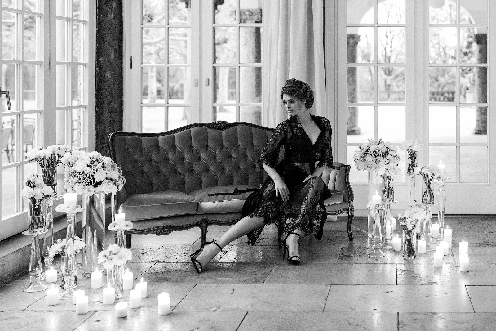 Fotoshooting Boudoir Inspiration im Luxushotel Dolce Bad Nauheim