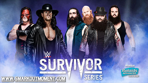 WWE Survivor Series 2015 Event Undertaker Kane vs Wyatt Family