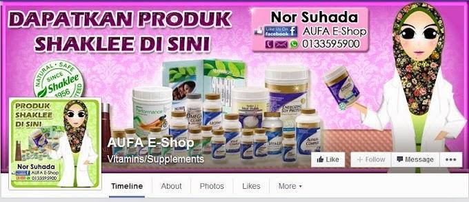 Tempahan Design  Facebook Cover Photo: FB Aufa E-Shop