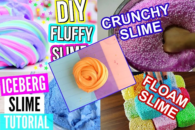 5 DIY Slime Reciepes