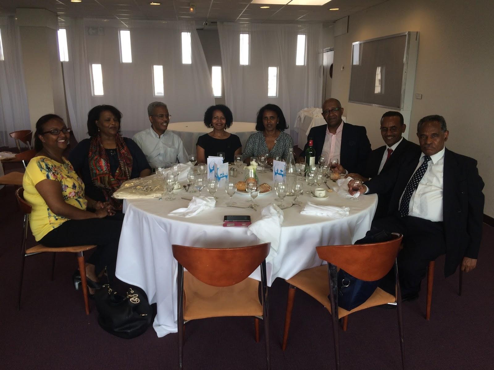 <Eritrean Ambassador Hanna Simon held reception at UNESCO Head office in Paris, France