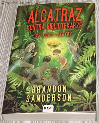 """Brandon Sanderson - """"Alcatraz kontra bibliotekarze #2 Kości Skryby"""""""