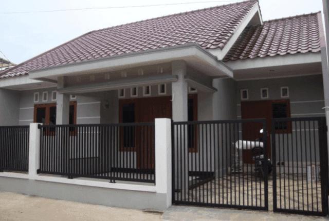 Contoh Denah Rumah Kampung Sederhana