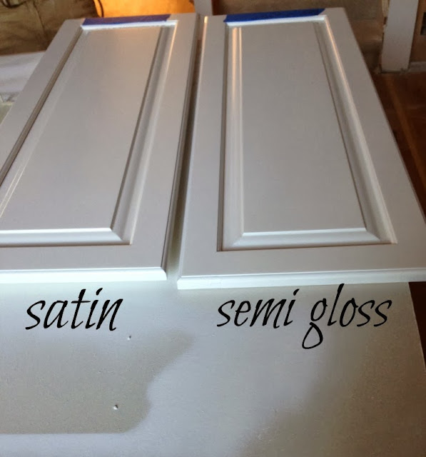 Semi Gloss Paint For Kitchen Cabinets