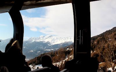 Vistas desde el Bernina express