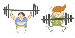 efort fizic intens, umor involuntar, sala de gym