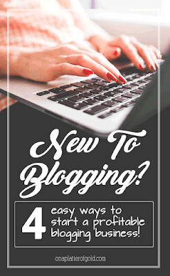 New to blogging? Click here