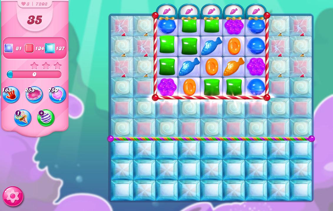 Candy Crush Saga level 7202