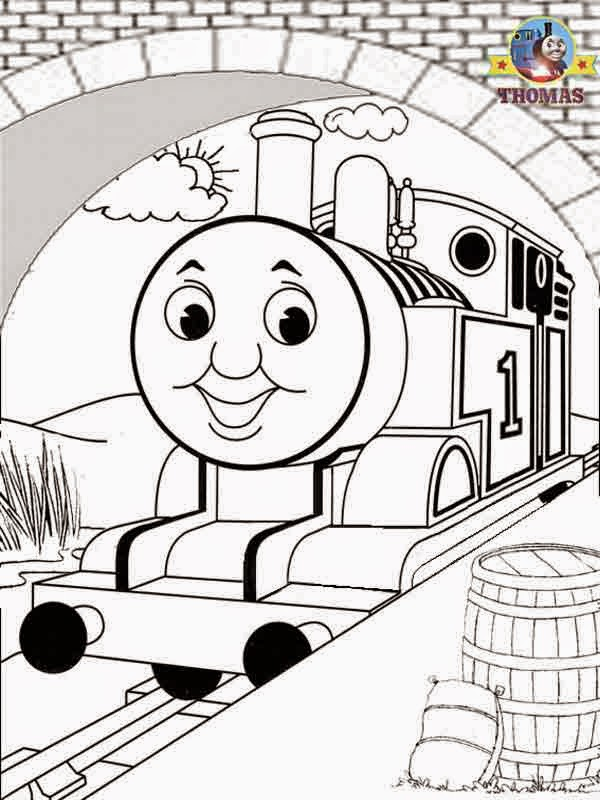 Coloring Pages: Thomas the Tank Engine Coloring Pages Free