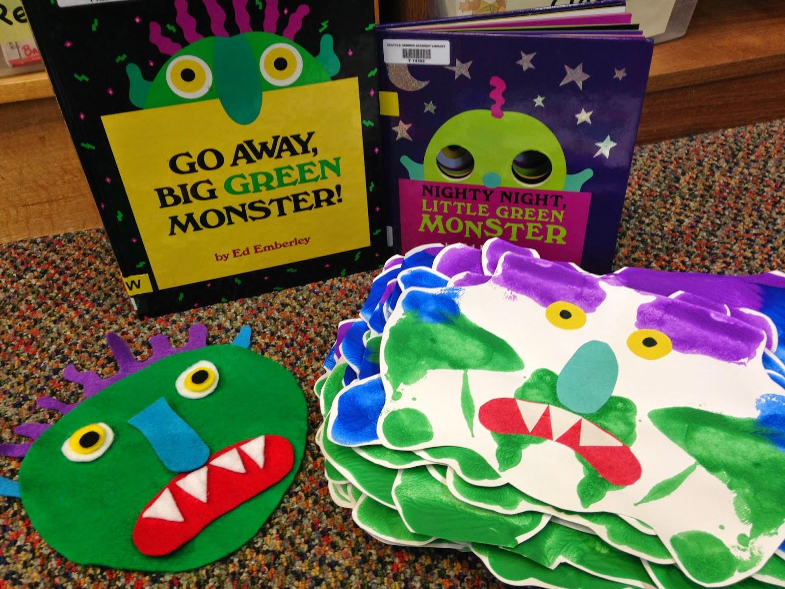 A Librarian Less Ordinary Preschool Storytime Go Away